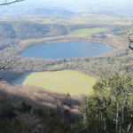 Foto i due laghi di Monticchio gennaio 2012